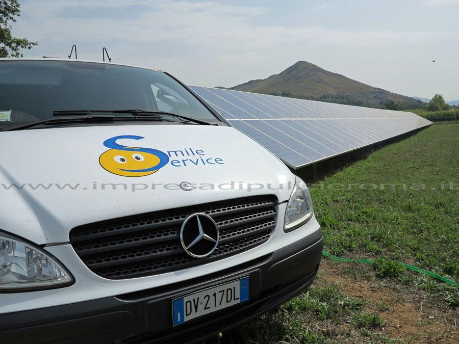Impresa Di Pulizie Roma Lavaggio Pannelli Fotovoltaici 3