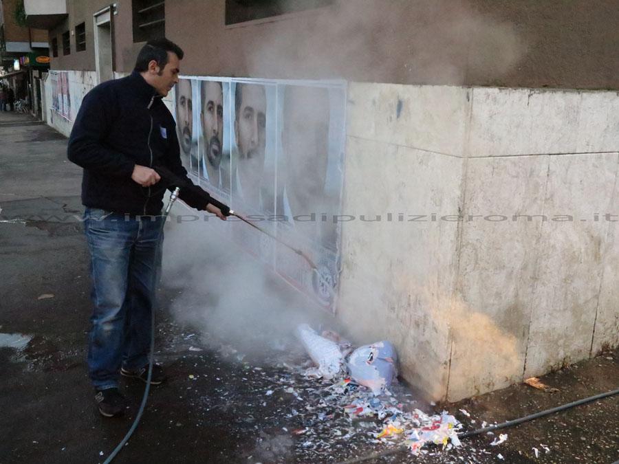 Rimozione Manifesti E Adesivi Roma